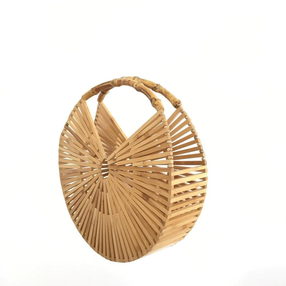How soft rattan purse suggest