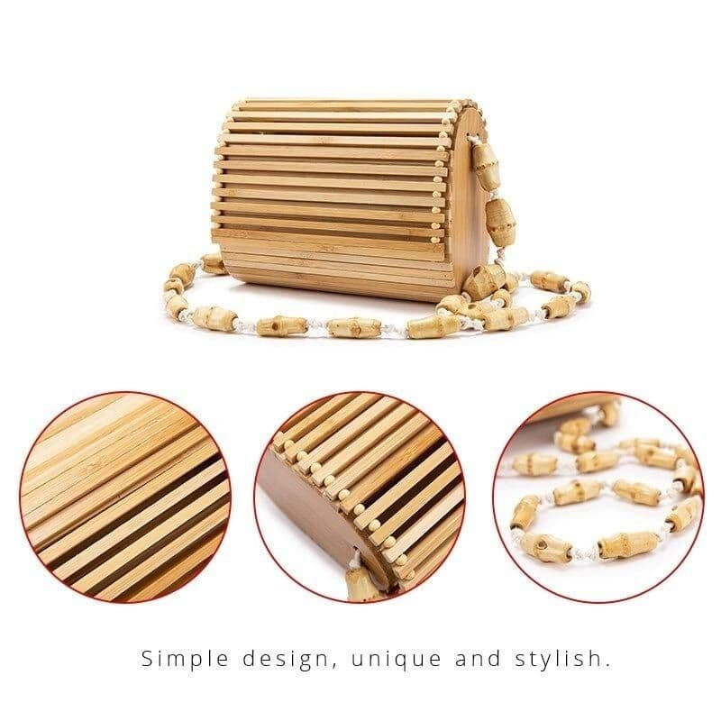 Review Handmade Bamboo Purse In Holiday To Buy