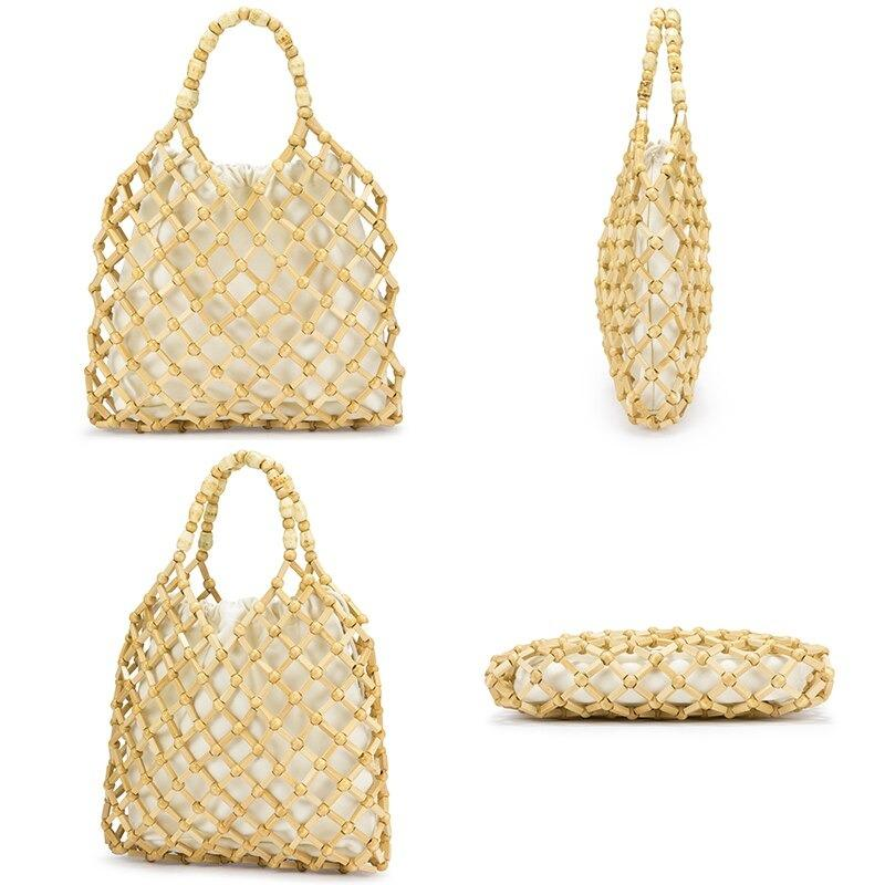 How high-end wicker tote bag value