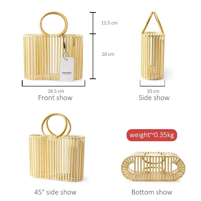 How much mango designer straw bag