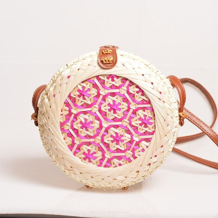 How long round rattan bags collection good