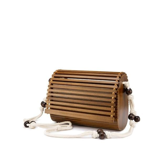 How much bamboo straw market bag 2021