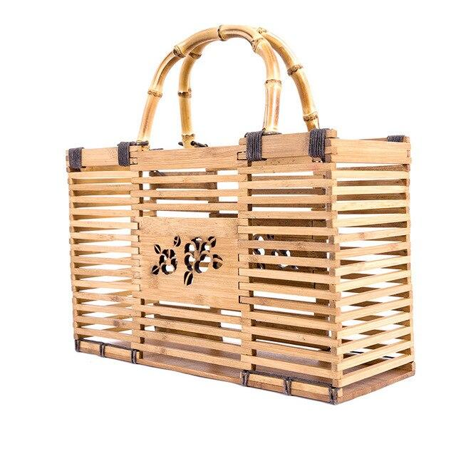 Handicaft small straw bag suggest