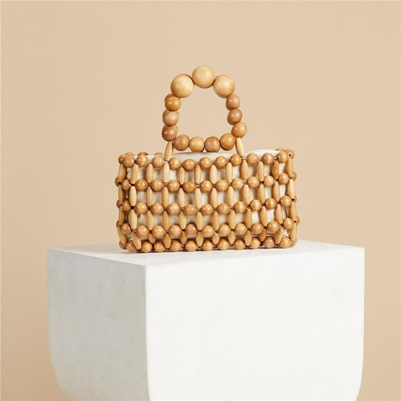 High-end wicker clutch recomment