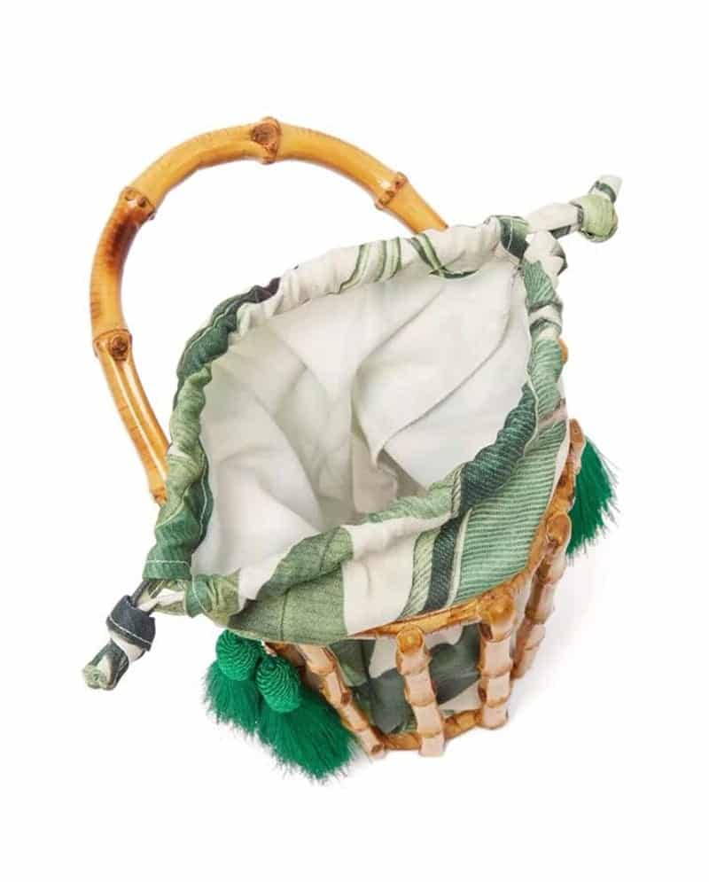 How market straw basket bag value