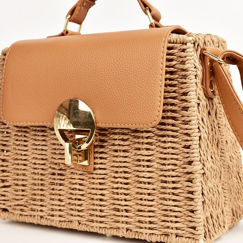How much straw beach bags clutch best