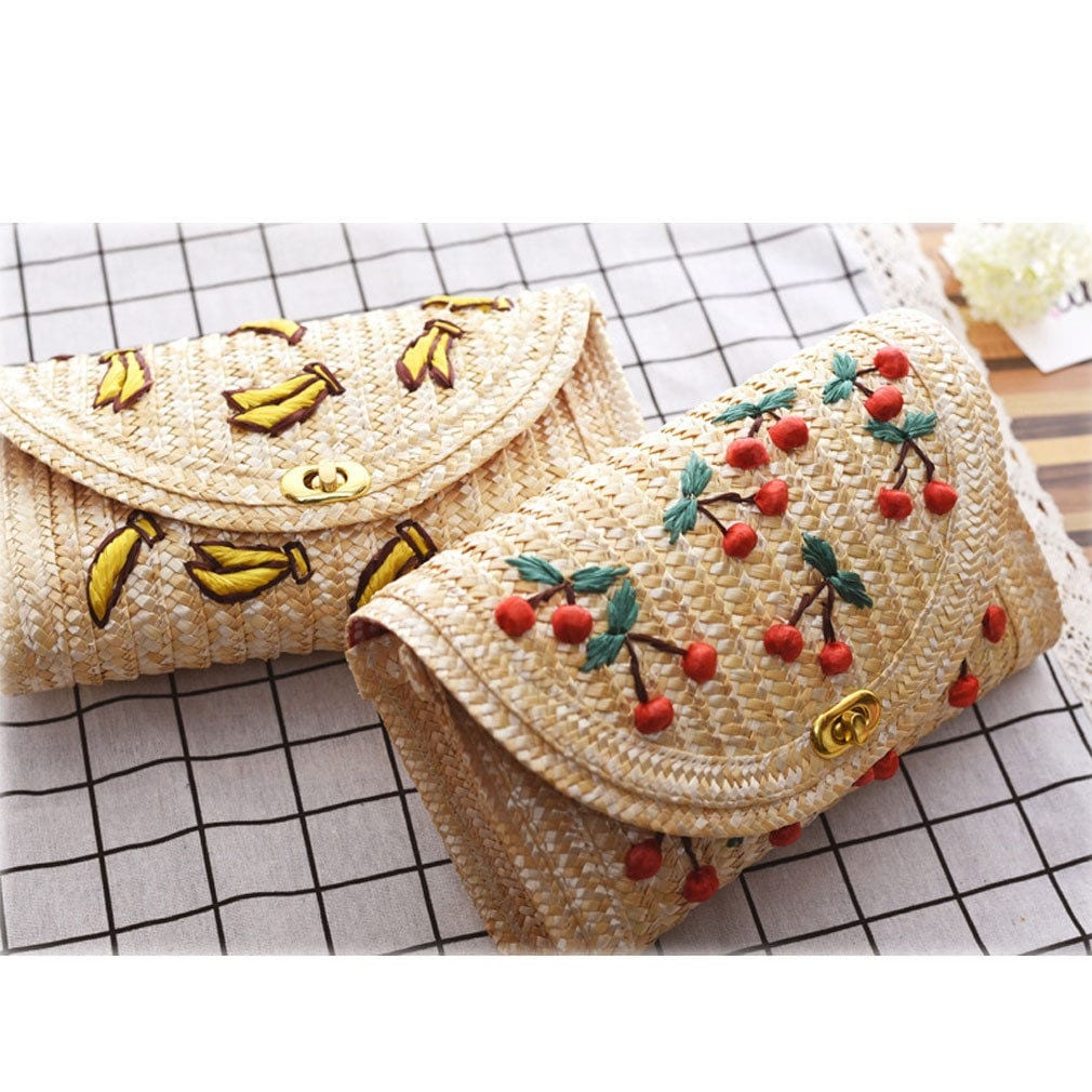 Where market summer straw handbag