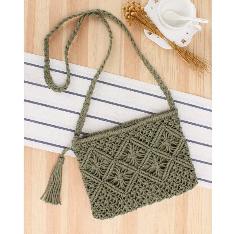 How many bamboo woven leather tote premium
