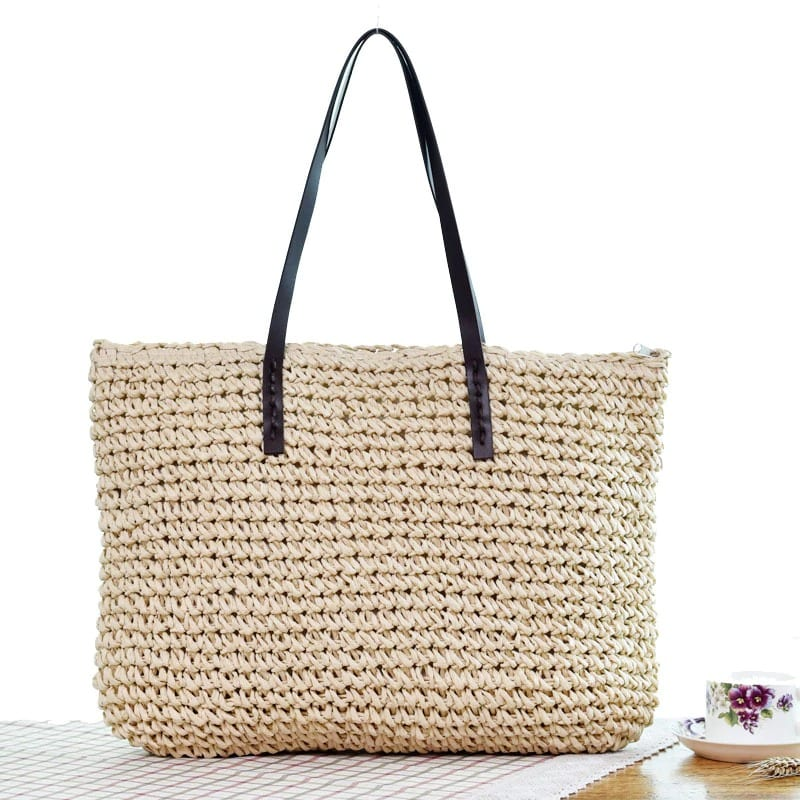 How many vintage straw handbag bali