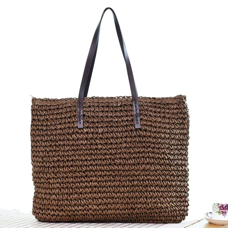 Small straw bag sale