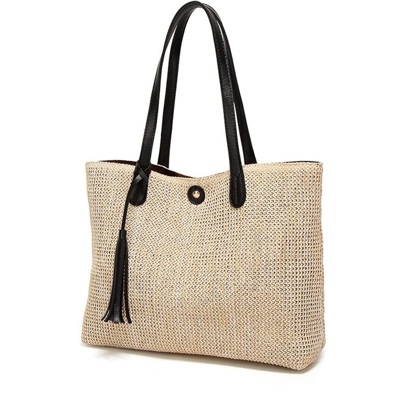 How long large straw bags and totes top