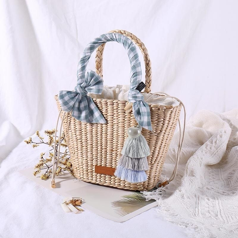How much summer round straw crossbody bag and totes