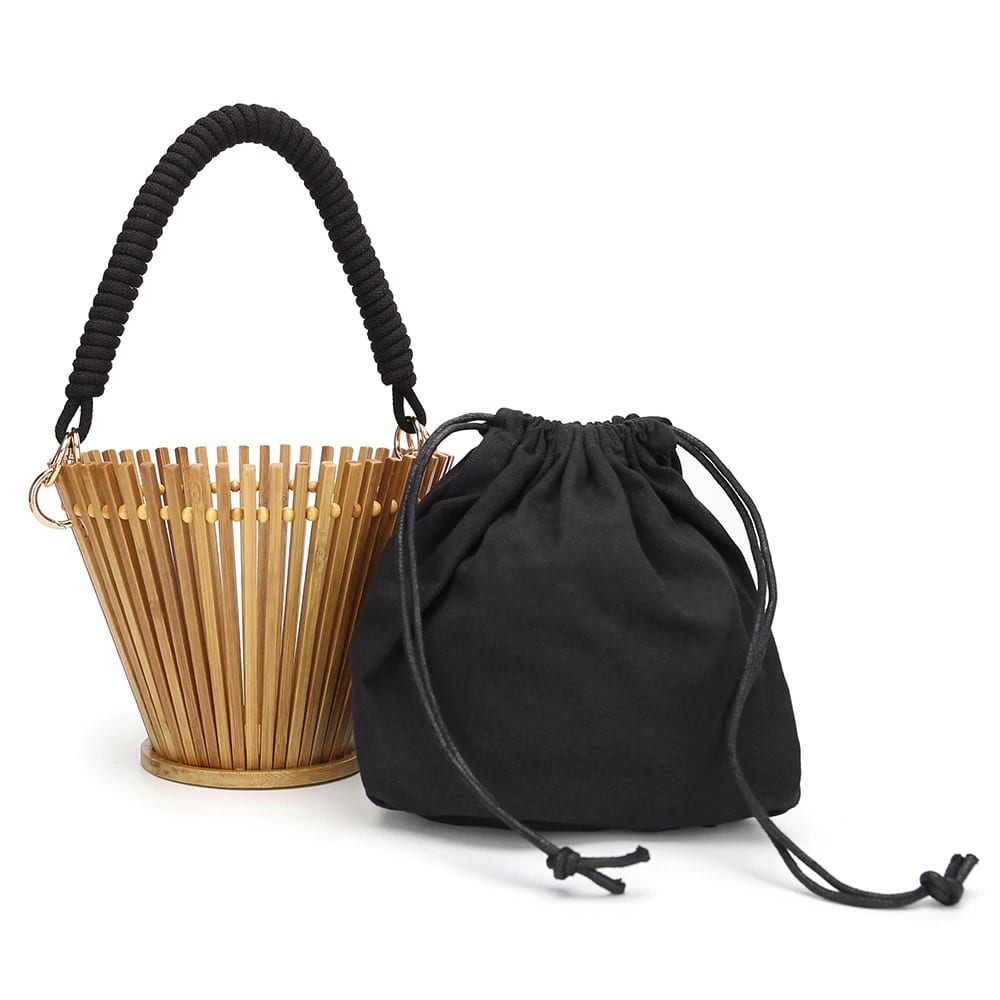 What high-end straw totes for summer better
