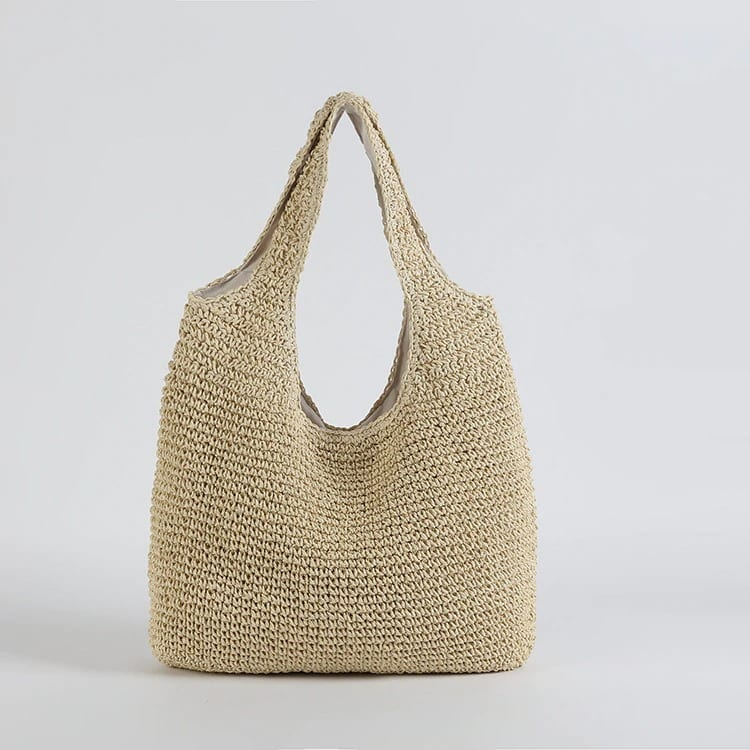 Handle wicker clutch
