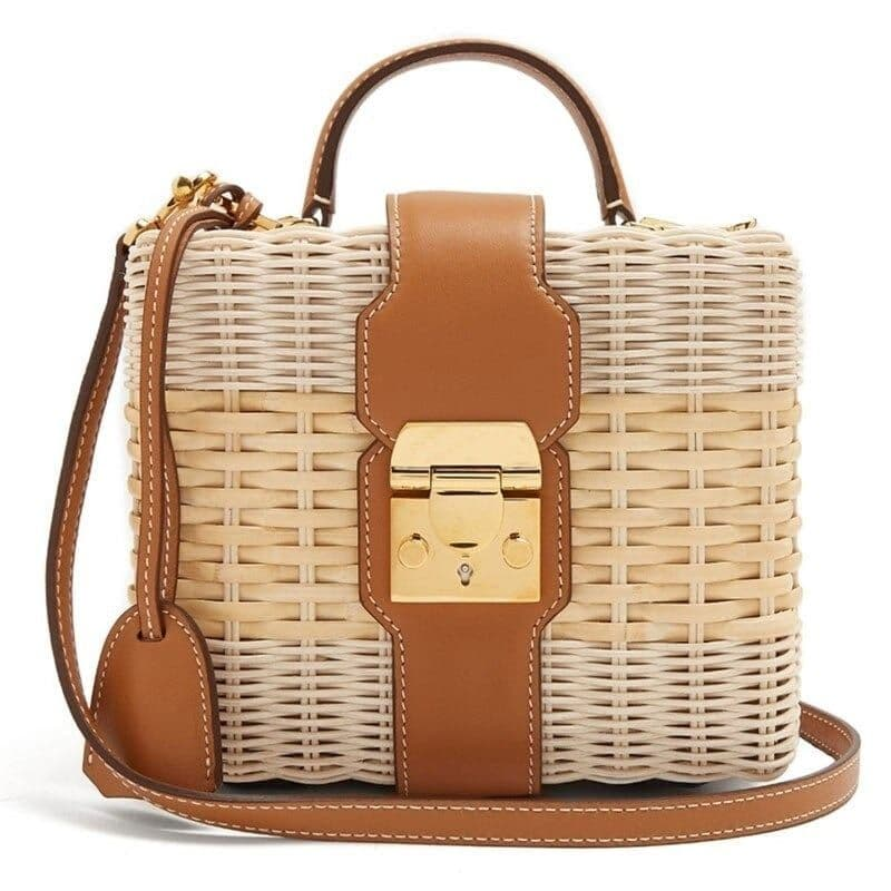 Which bamboo designer straw bag good
