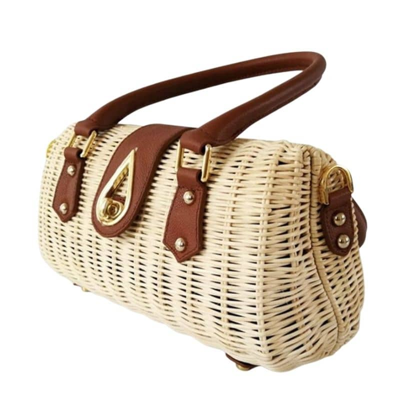 Casual small straw bag value