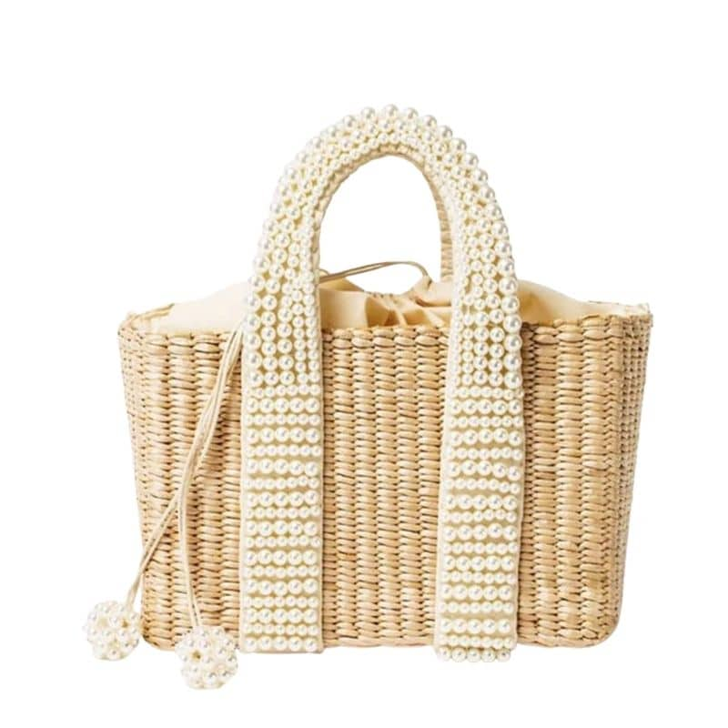 How long solid wicker bag