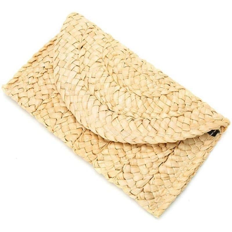 Woven clutchs and totes good