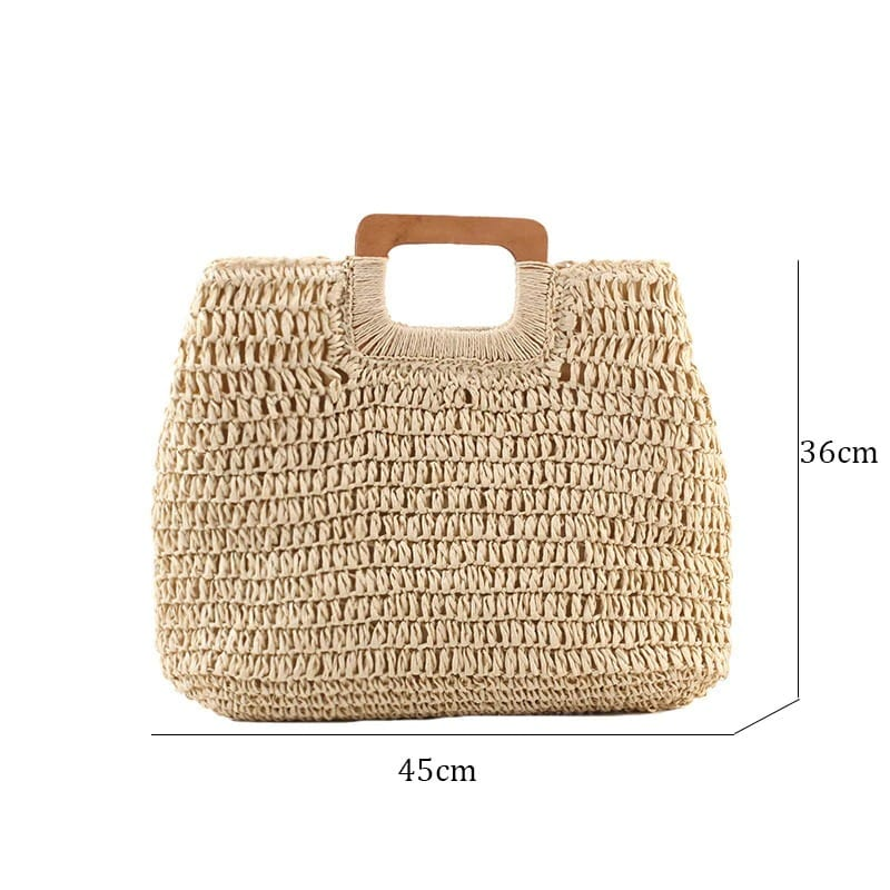 Woven leather totes ladies