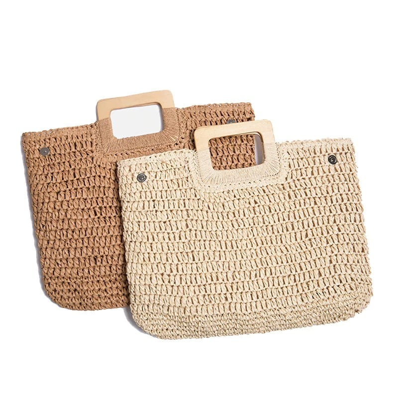 How much woven round rattan bag best
