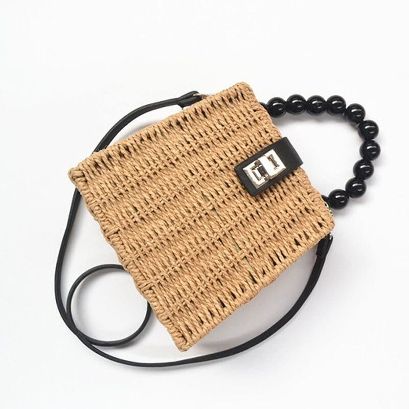 How long vacation round straw purse best