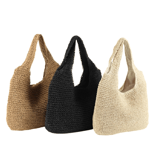 Wicker backpacks beach value