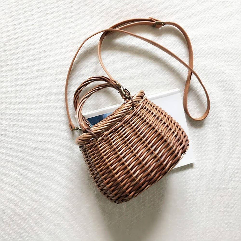 How much round rattan bags ladies