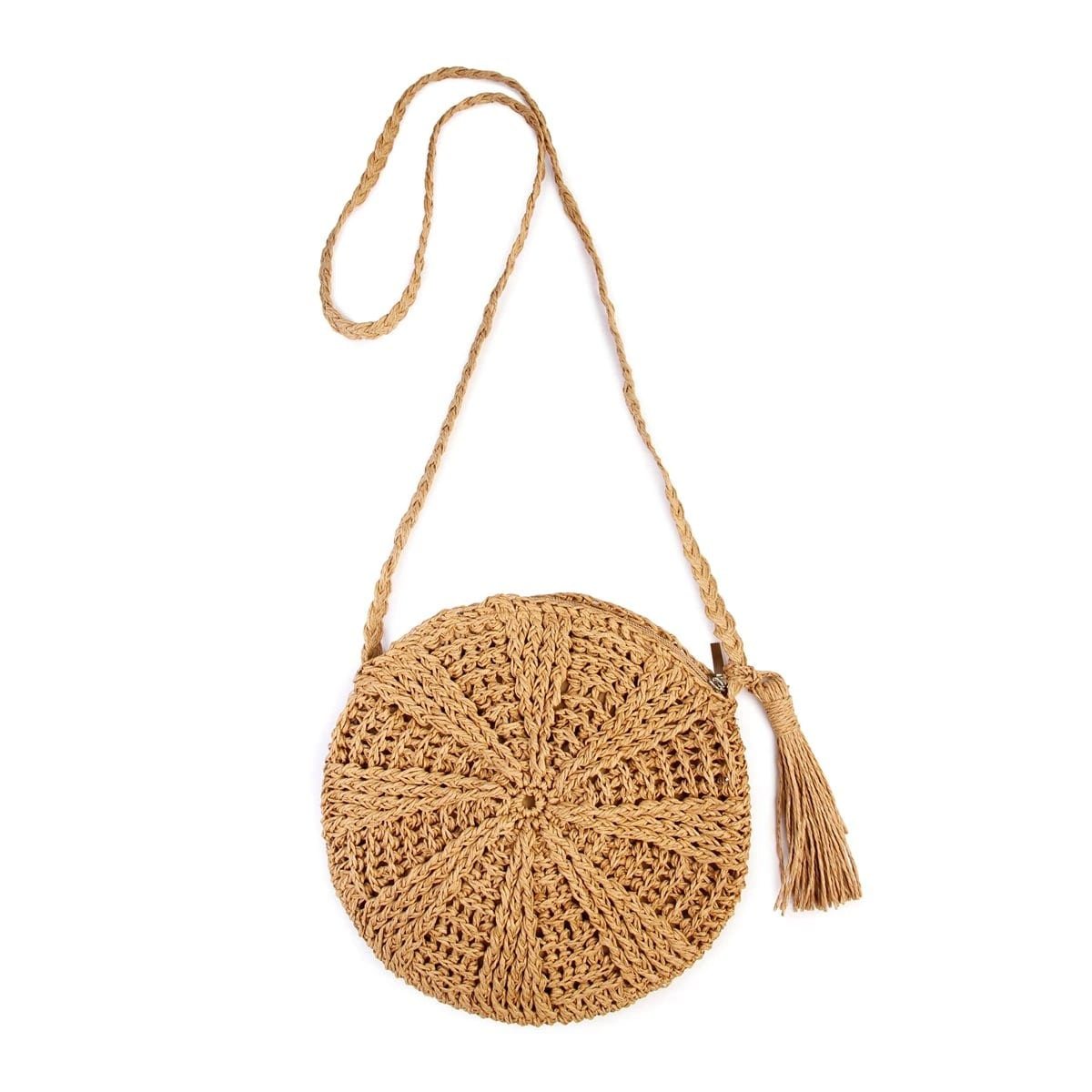 How much native straw backpack