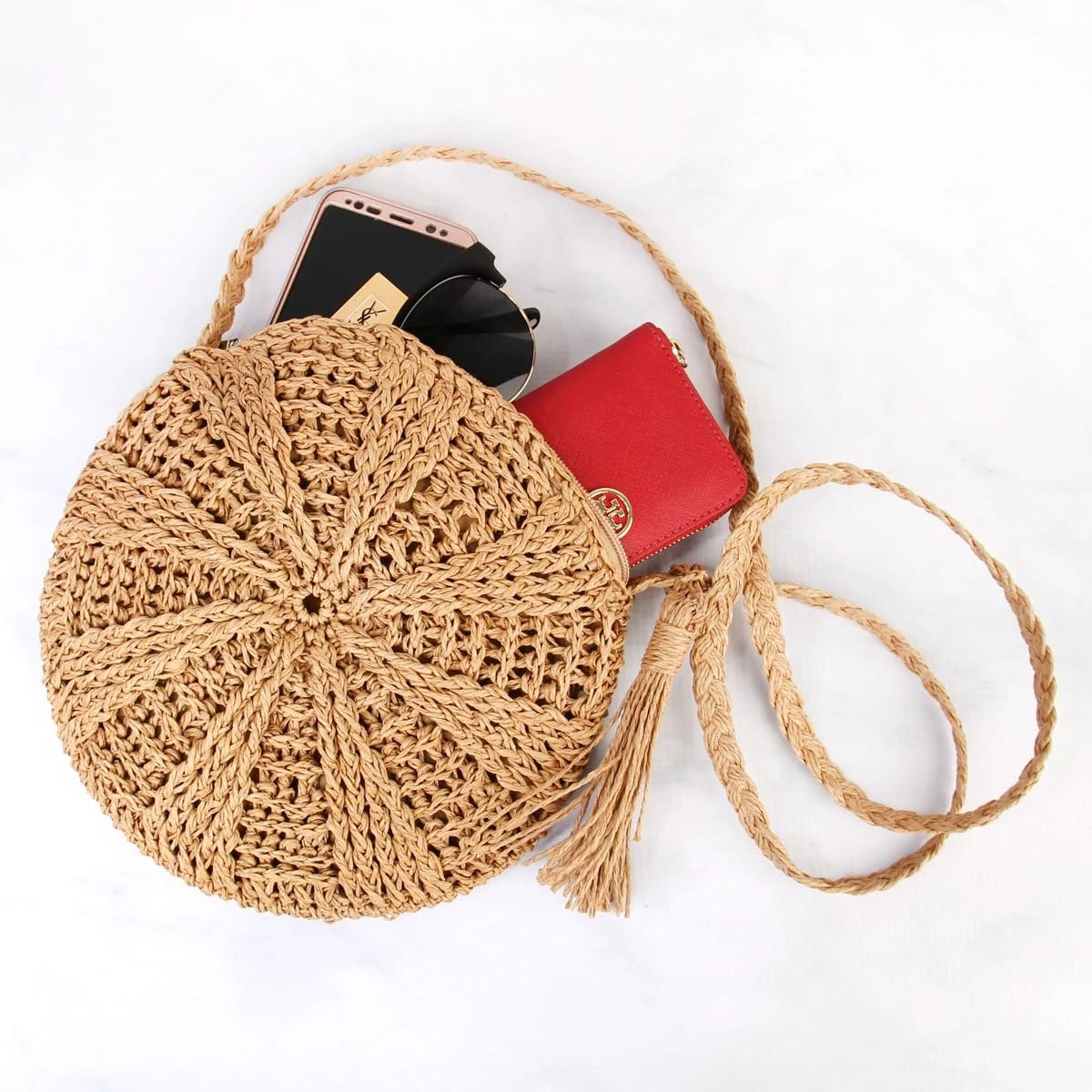 How many woven rattan bag better