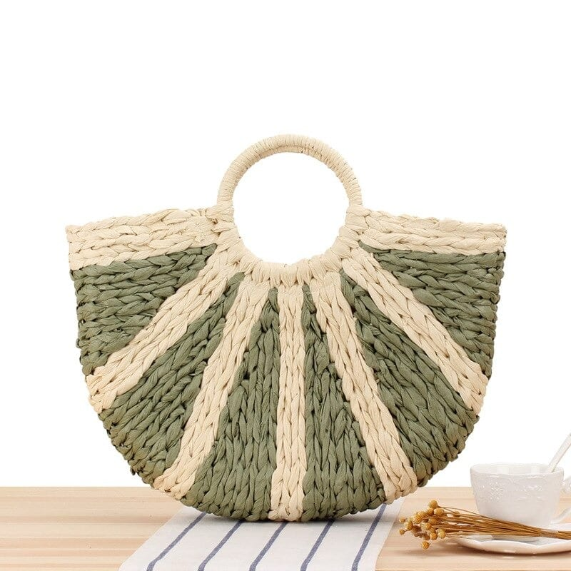 Woven woven leather bag quality