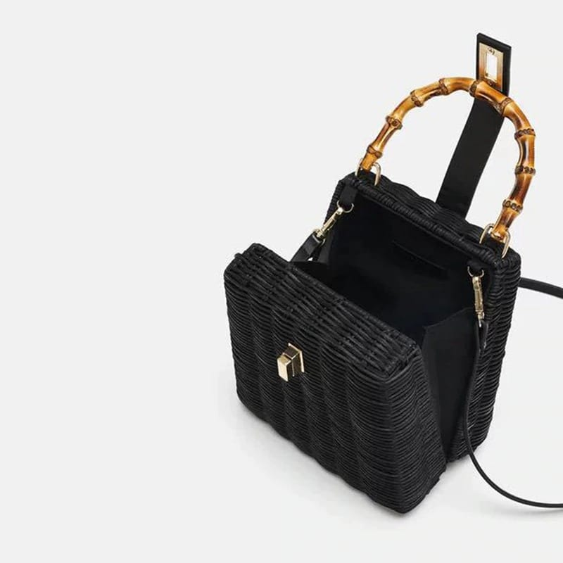 Woven handbags for spring quality