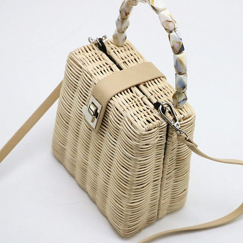 Which summer straw bags made in bali