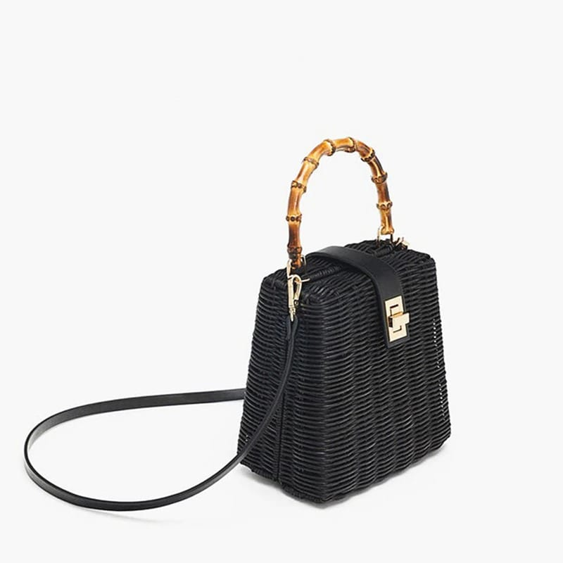 How much mango wicker purse recomment