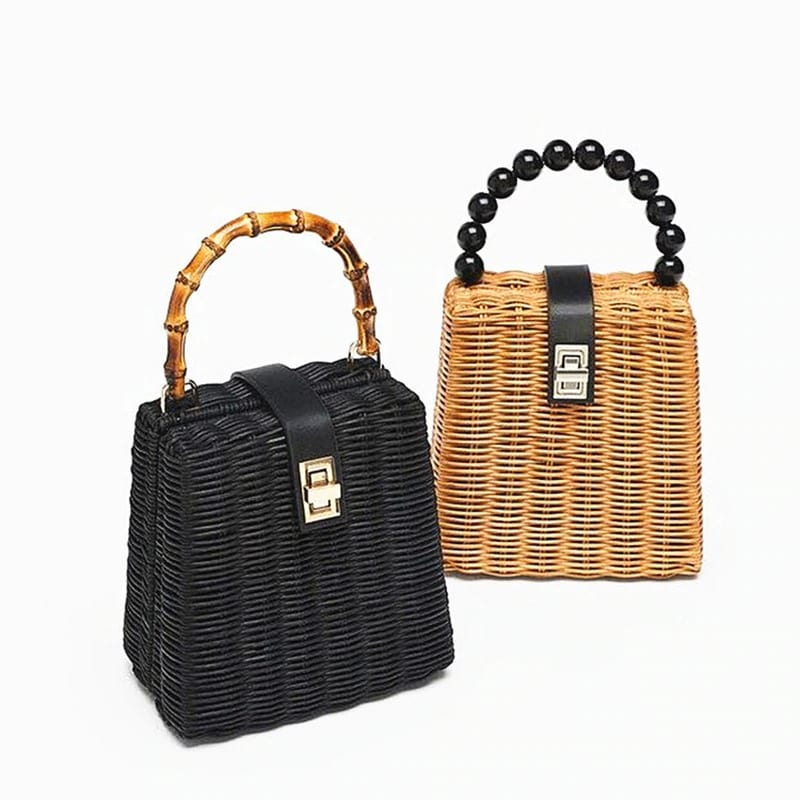 What bahamian straw bags for summer premium