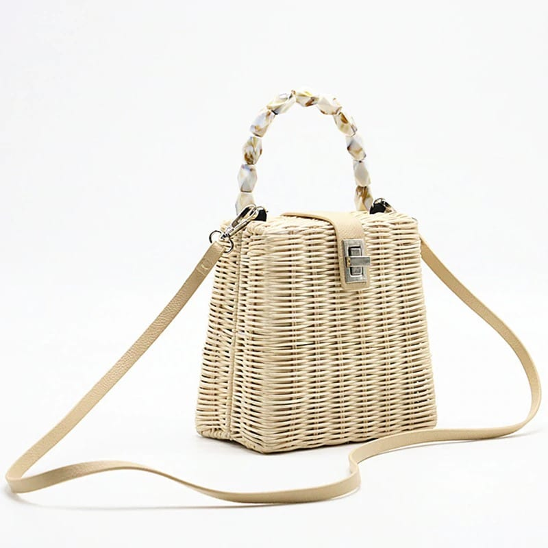 Basket straw backpack better