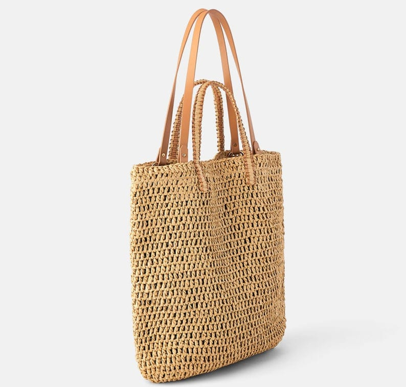 How many designer woven bucket bag suggest
