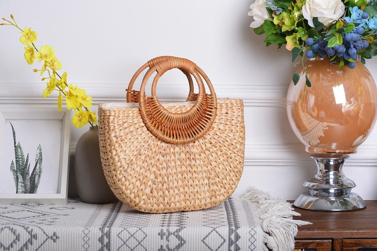 Cheap woven bag recomment