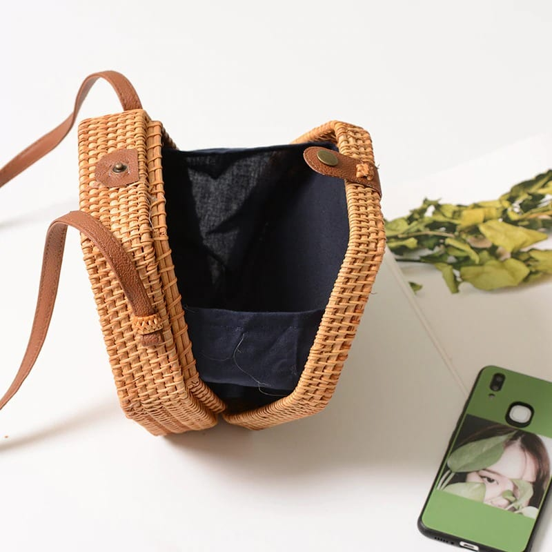 How many the best rattan tote bag