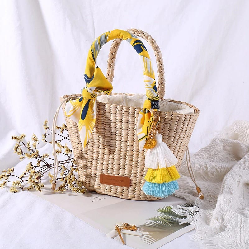 How long summer summer straw handbag and totes best
