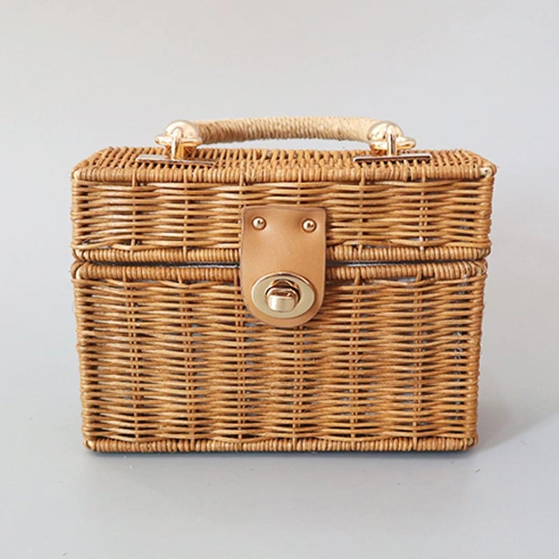 Cheap rattan tote bag