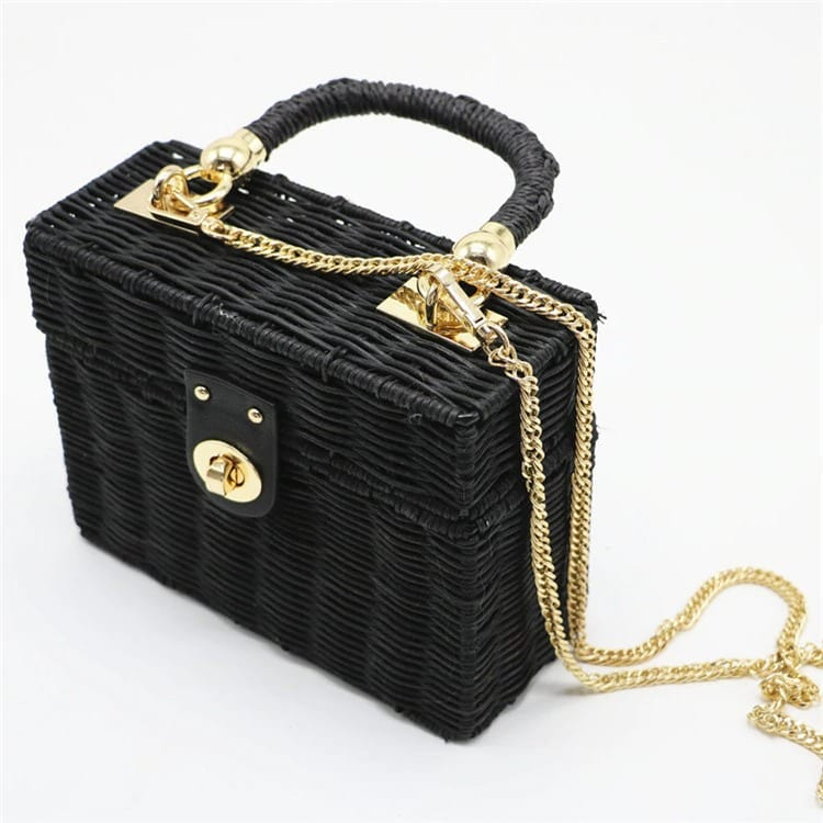How much luxury summer straw handbag top