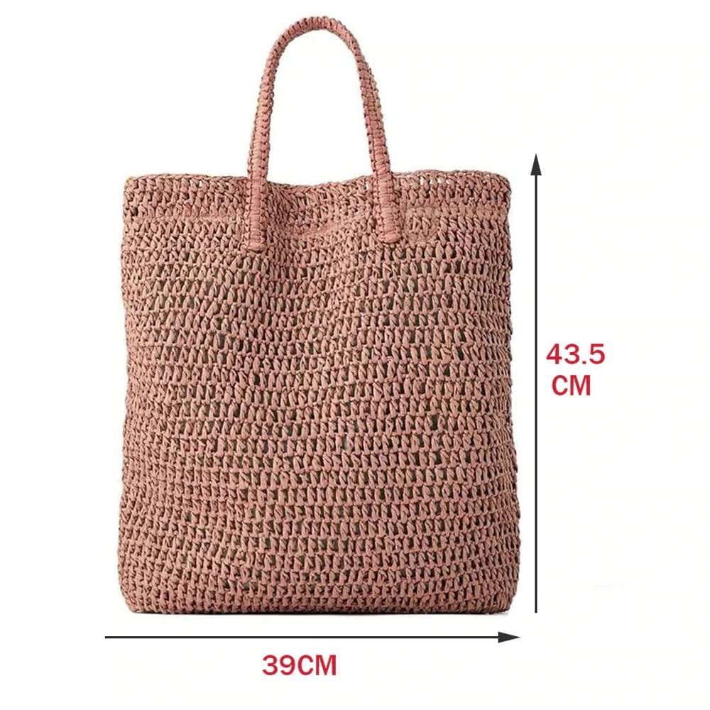 Rattan summer straw handbags value