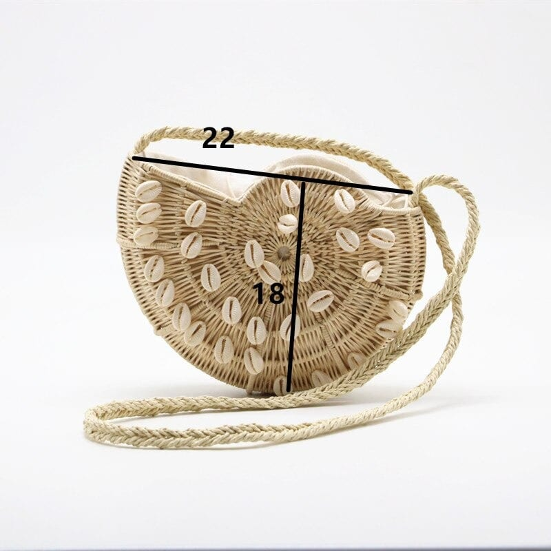 Summer straw purses for spring