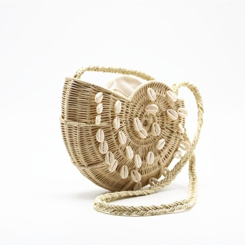 When small woven straw handbags premium