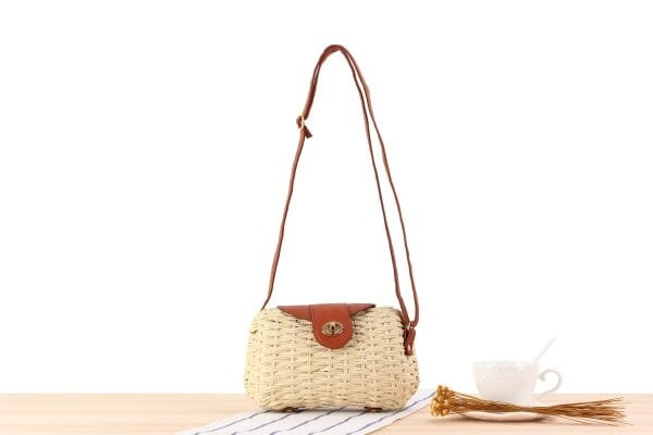 Why handle straw beach bag recomment