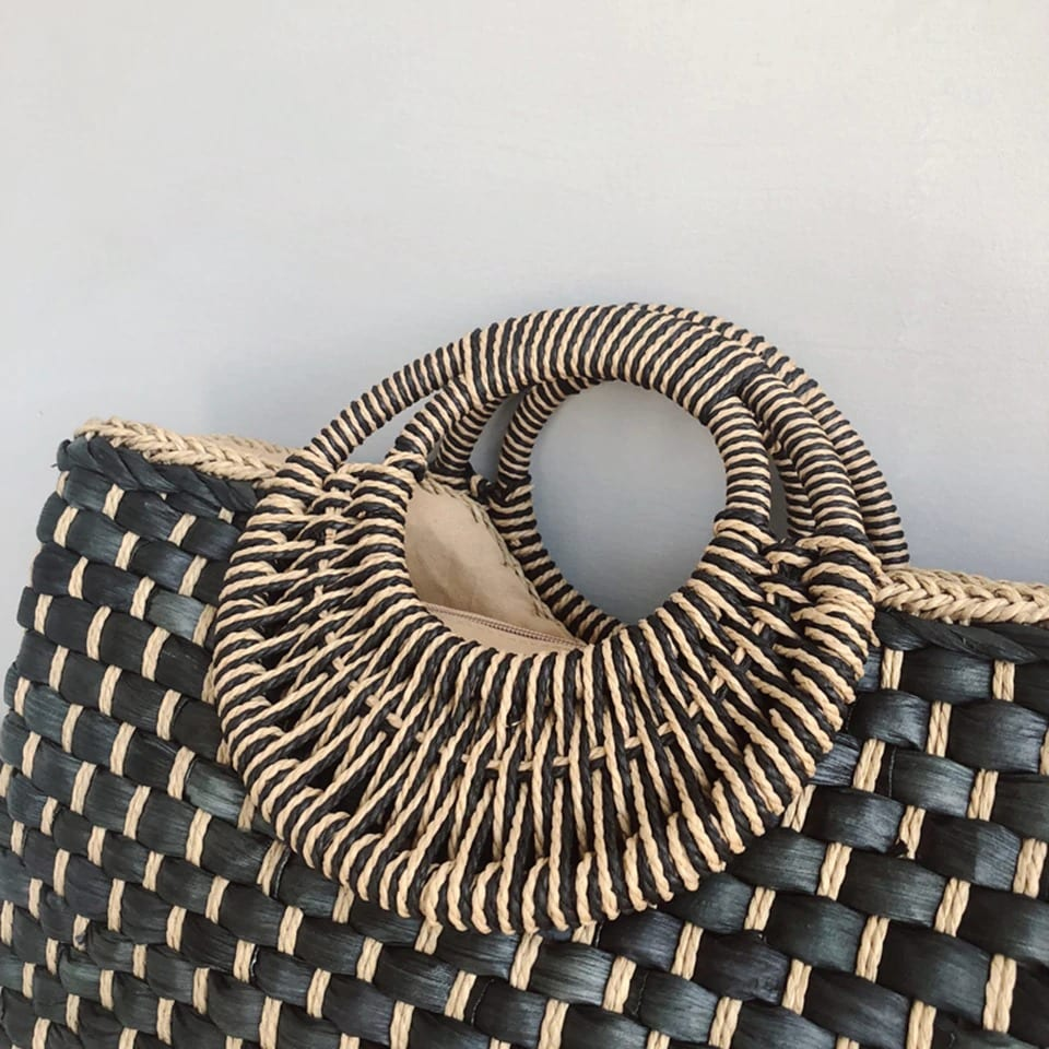 How much rattan bag large quality