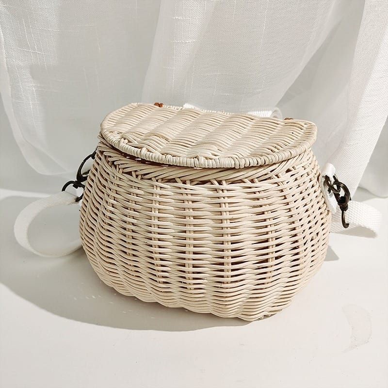 How long holiday rattan purse recomment