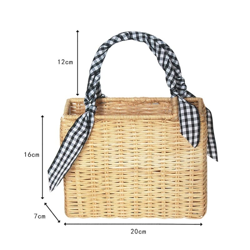 Straw beach bags online shop
