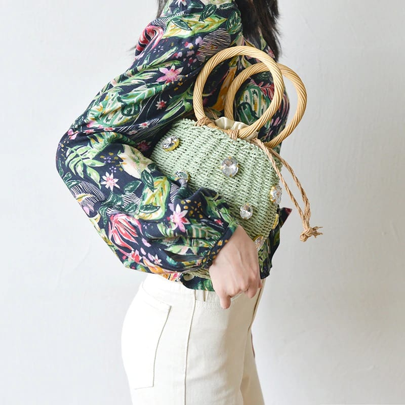 How woven crossbody bags fashion good