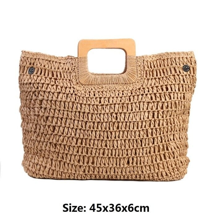 What ladies round rattan bags